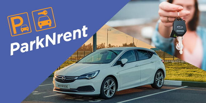 Rent with Mode Rentals and get discount for Parking Mode graphic